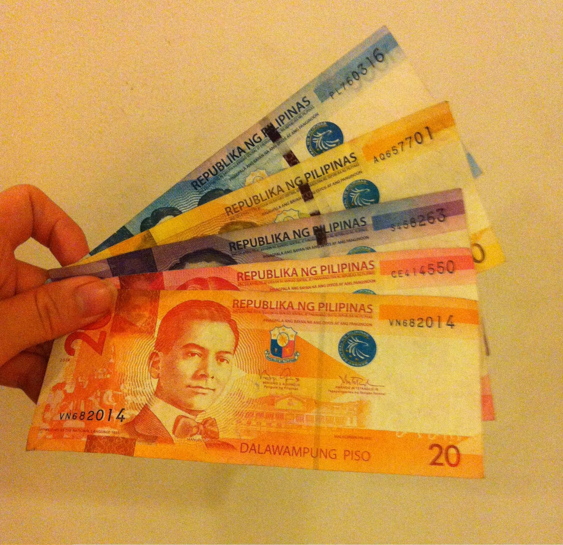 フィリピンの通貨とお金に関する注意点イメージ