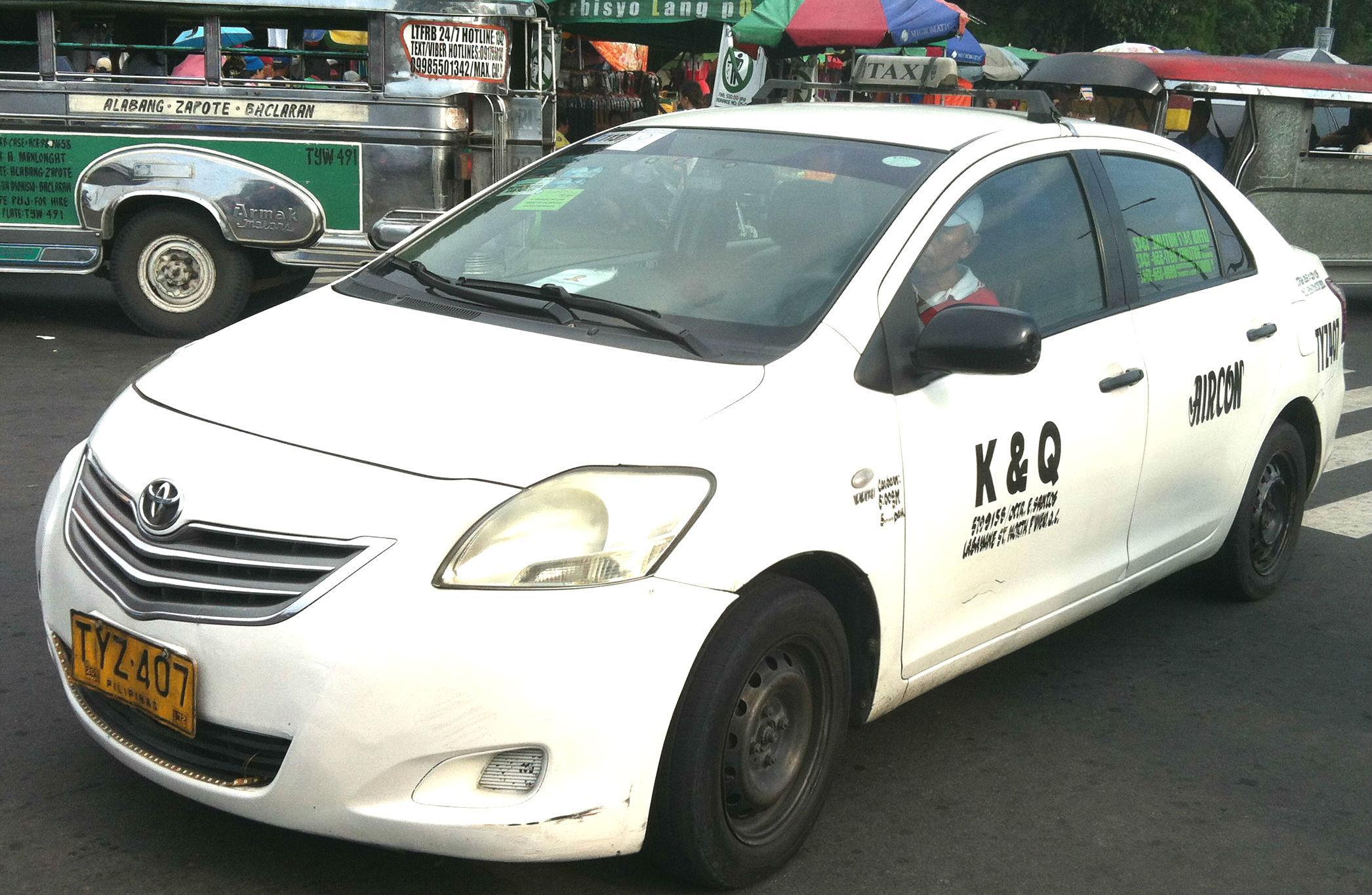 マニラでタクシーを安全に利用する方法!イメージ